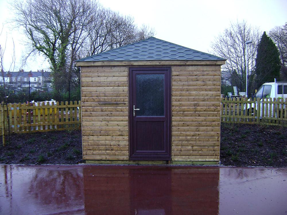 Sheds made to measure garden buildings for Uk garden buildings