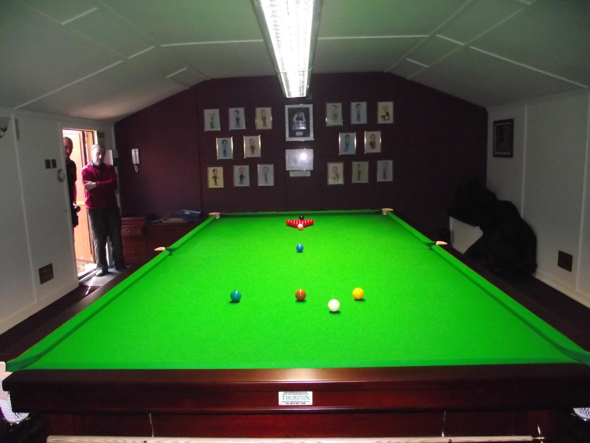 Garden Snooker Rooms Uk