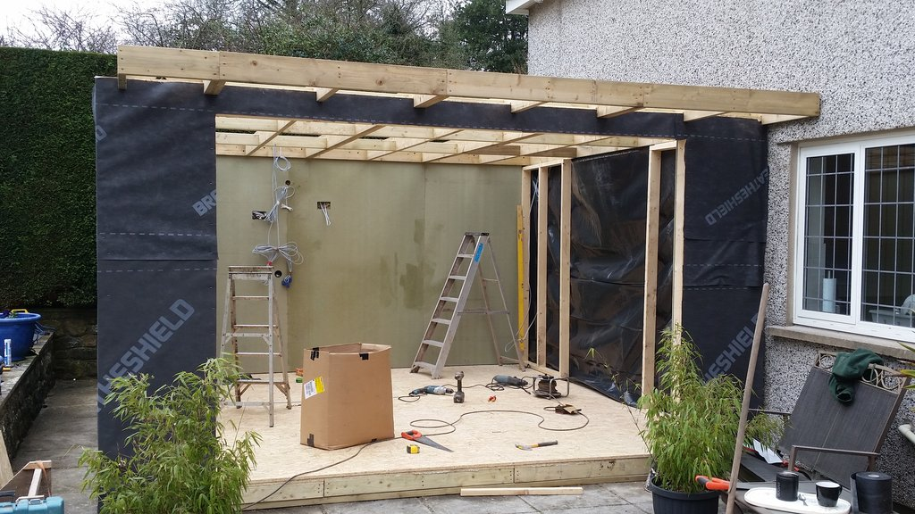 Garden summer rooms houses sheds pontypool south wales for Garden room definition