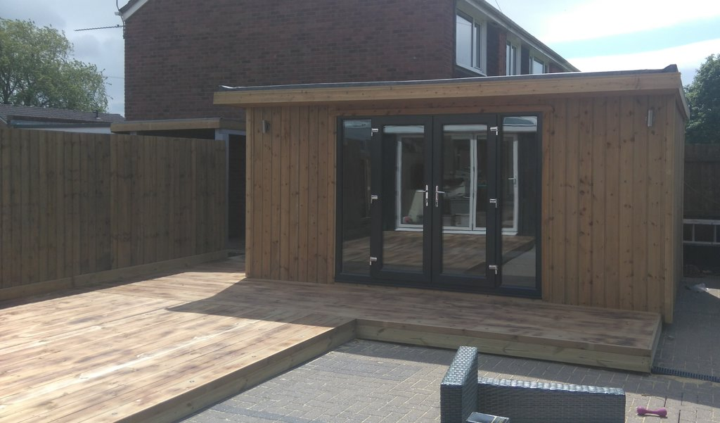 Fully Insulated Garden Room Made To Measure Garden Buildings