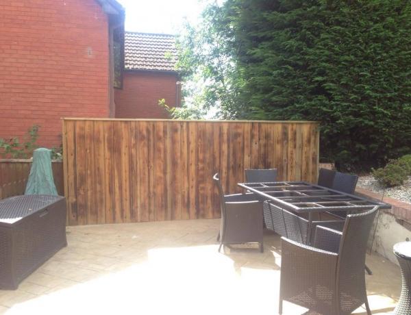 Feature Wall In Garden