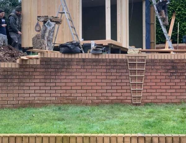 Garden Room Under Construction