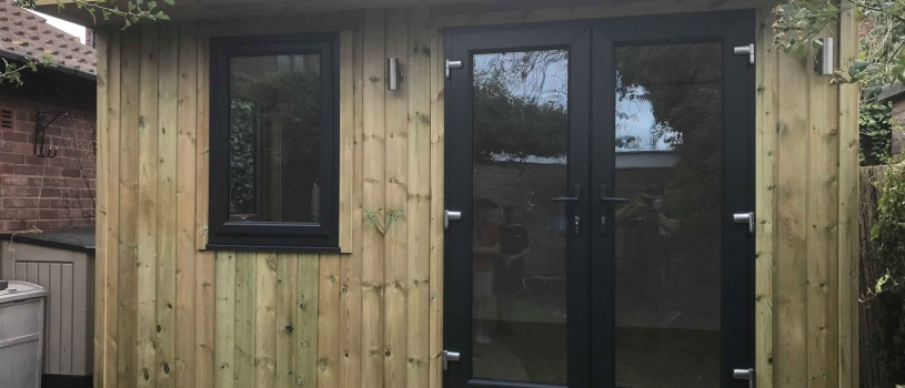 Fully insulated Garden Room 4m x 3m