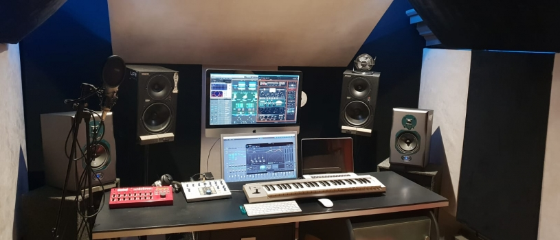 Music Studio …Updated pictures