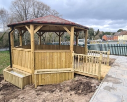 *Updated Pictures* Outdoor Classroom