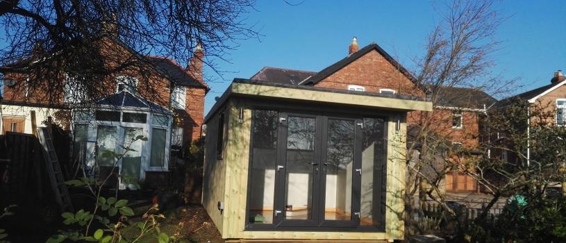 Garden Room with concealed door