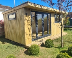 6m x 3m Fully Insulated Garden Room