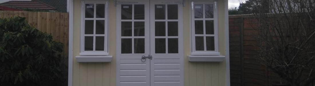 Summer house made to measure garden buildings for Tj garden rooms