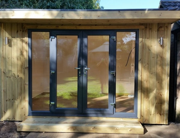 Garden Room …with extra glass panels