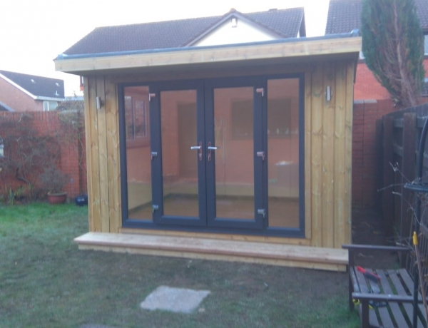 Fully Insulated Garden Room