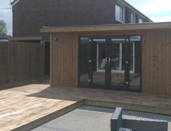 Fully Insulated Garden Room