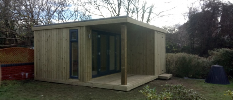 Garden Room with glass panels