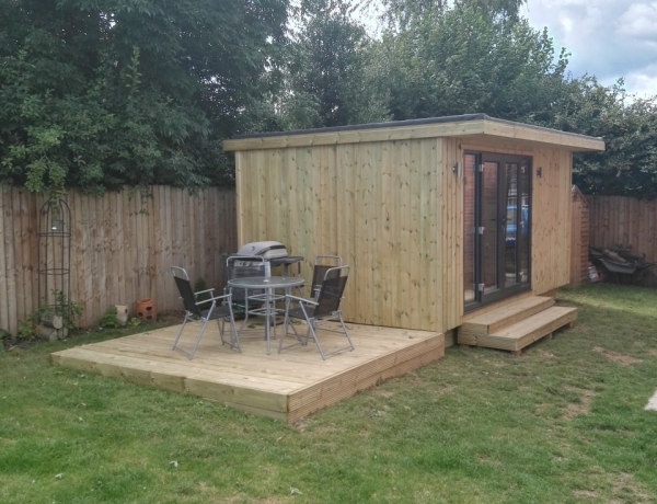 garden Room Hereford 5m x 3M