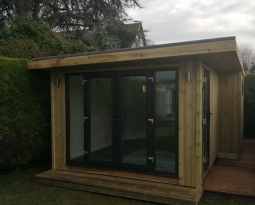 L Shaped Garden Room