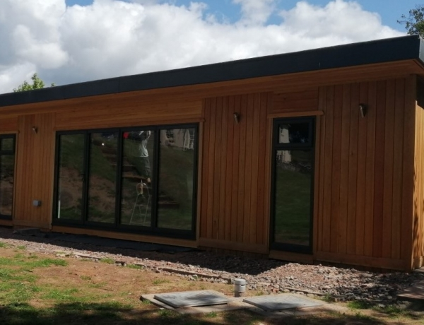 11m x 7m Fully Insulated Building