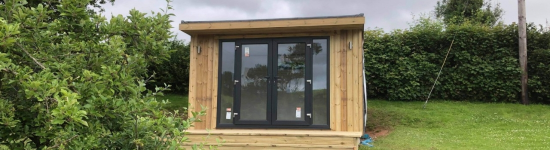 3m x 3.6m Fully Insulated Garden Room